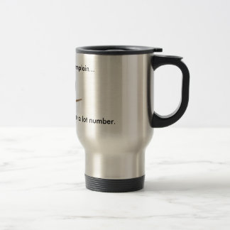 Complaint department travel mug