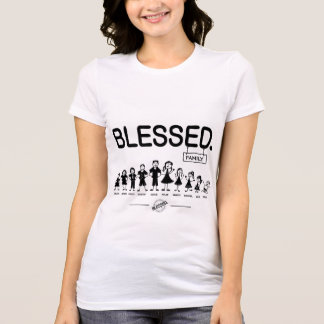 COMPLETE CUSTOM Blessed family tee