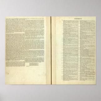 Complete Genealogical, Historical, Chronological Poster