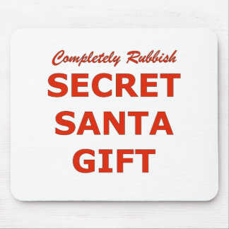 Completely Rubbish Secret Santa Gift Mouse Pad