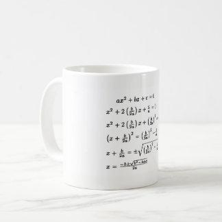 Completing the Square Coffee Mug