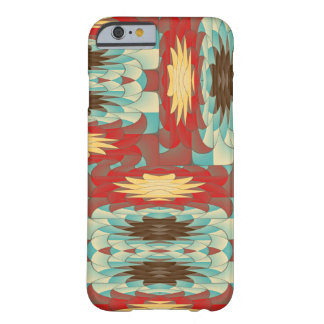 Complex colorful pattern barely there iPhone 6 case