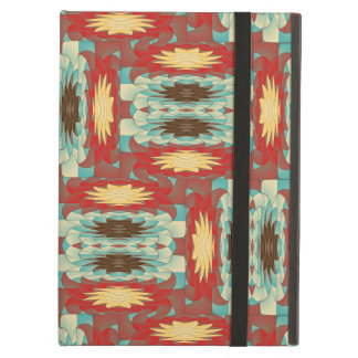 Complex colorful pattern iPad air case