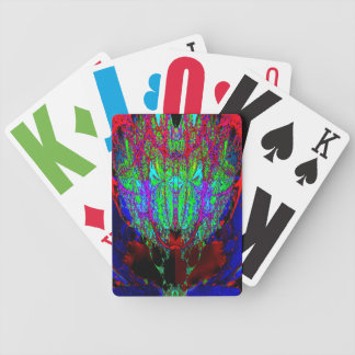 complex fractal bicycle playing cards