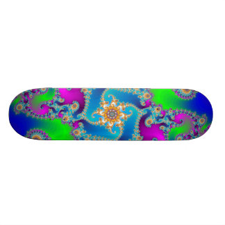 Complex Fractal Pattern: Skateboard