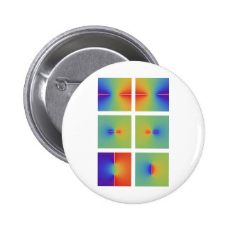 Complex inverse trigonometric functions pinback buttons