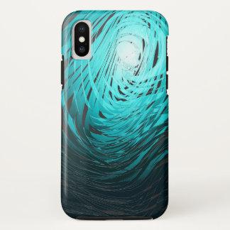 Complex Spiral2 Aqua - Apple iPhone X Case