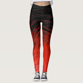 Complex Spiral Red - Leggings