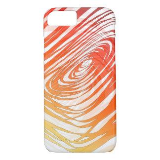 Complex Spiral Sunset1 - Apple iPhone Case