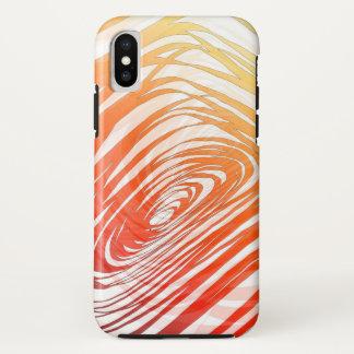 Complex Spiral Sunset - Apple iPhone X Case