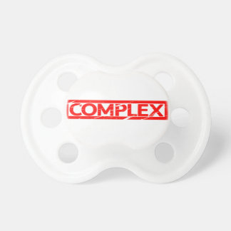 Complex Stamp Pacifier
