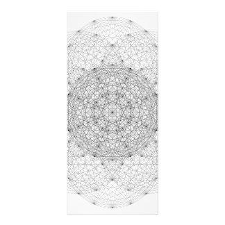 Complex Vector Geometry Rackcard Rack Card