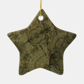 Complexity Ceramic Star Ornament