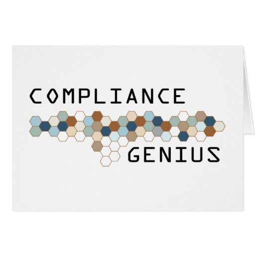 Compliance Genius Greeting Cards