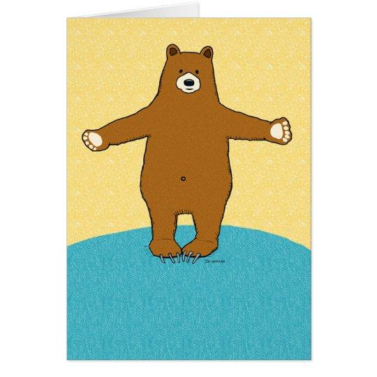 Complimentary Bear Hug Get Well Soon Card