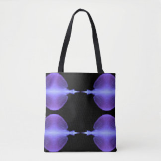 Complimentary Jellyfish Artistic Photographic Desi Tote Bag