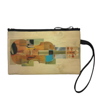 Composed Violin Coin Purse