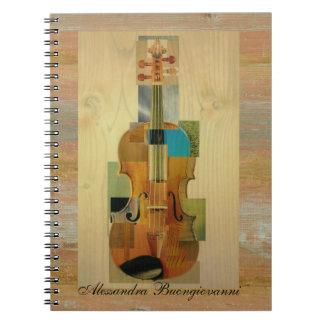 Composed Violin Notebook