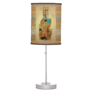 Composed Violin Table Lamp