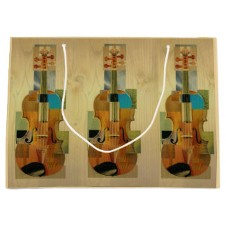 Composed Violin Trio Large Gift Bag