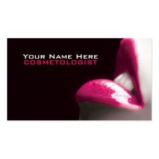 Composez les cartes de visite de cosmétiques carte de visite standard