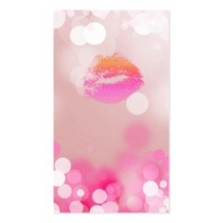 Composez les lèvres et les lumières de rose de car