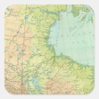 Composite Canada Square Sticker