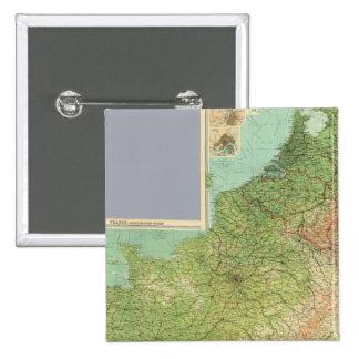 Composite France, Belgium, Holland Pins