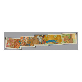 Composite Geological maps IV, 40th Parallel Survey Poster