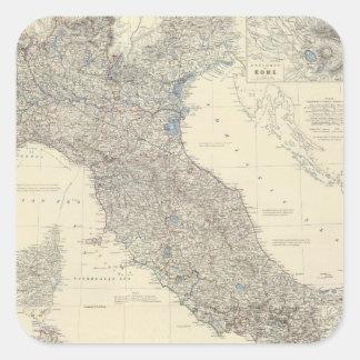 Composite Italy 3 Square Sticker