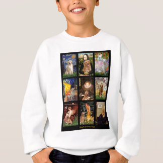 Composite-Masterpiece Goldens Sweatshirt