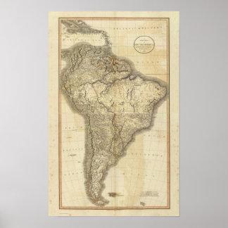 Composite South America 2 Poster