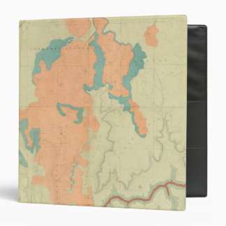 Composite Uinkaret Plateau North and South half 3 Ring Binder