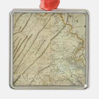 Composite Virginia Metal Ornament