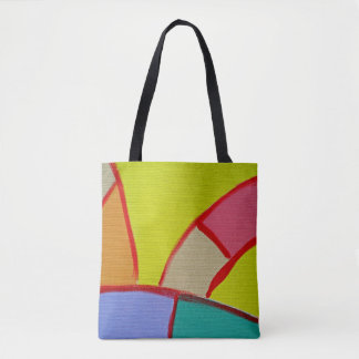 Composition #11A by Michael Moffa Tote Bag