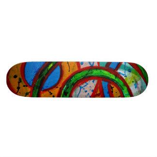 Composition #20C by Michael Moffa Skateboard Decks