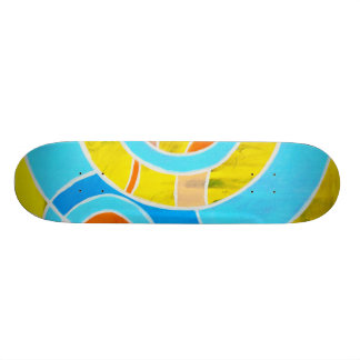Composition #23A by Michael Moffa Skateboard Decks