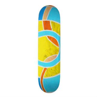 Composition #23B by Michael Moffa Custom Skateboard
