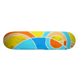 Composition #23C by Michael Moffa Skateboards