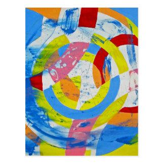 Composition #2 by Michael Moffa Postcard