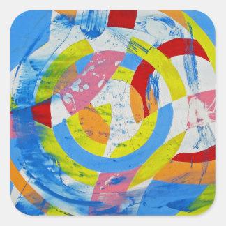 Composition #2 by Michael Moffa Square Sticker
