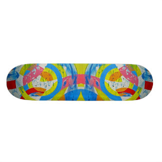Composition #2B by Michael Moffa Skate Boards