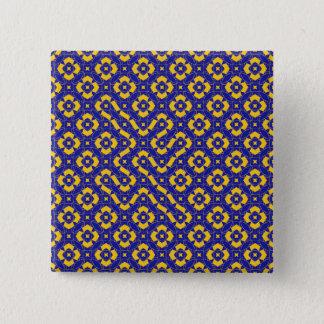 Composition 53 2 inch square button