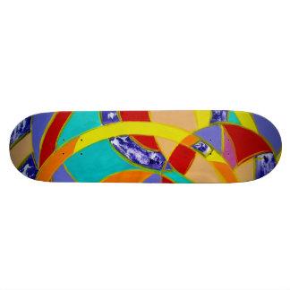 Composition #5 by Michael Moffa Skate Boards