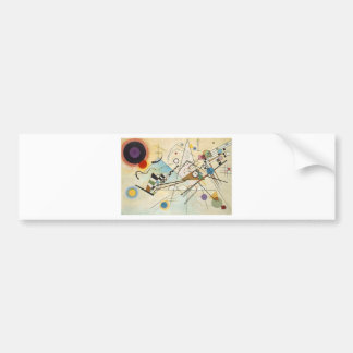 Composition 8 Kandinsky Painting Bumper Sticker
