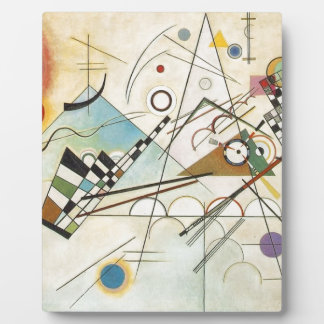 Composition 8 Kandinsky Painting Plaque