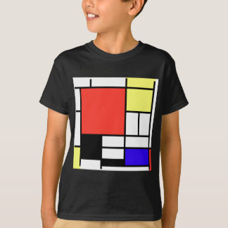 Composition and Mondriaan T-Shirt