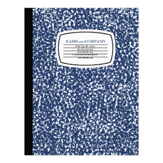 composition book letterhead