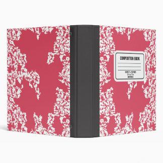 Composition Book (Pink) Binders