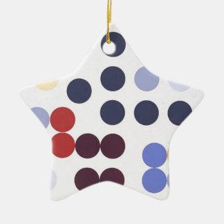 Composition dans un cercle by Sophie Taeuber-Arp Ceramic Ornament